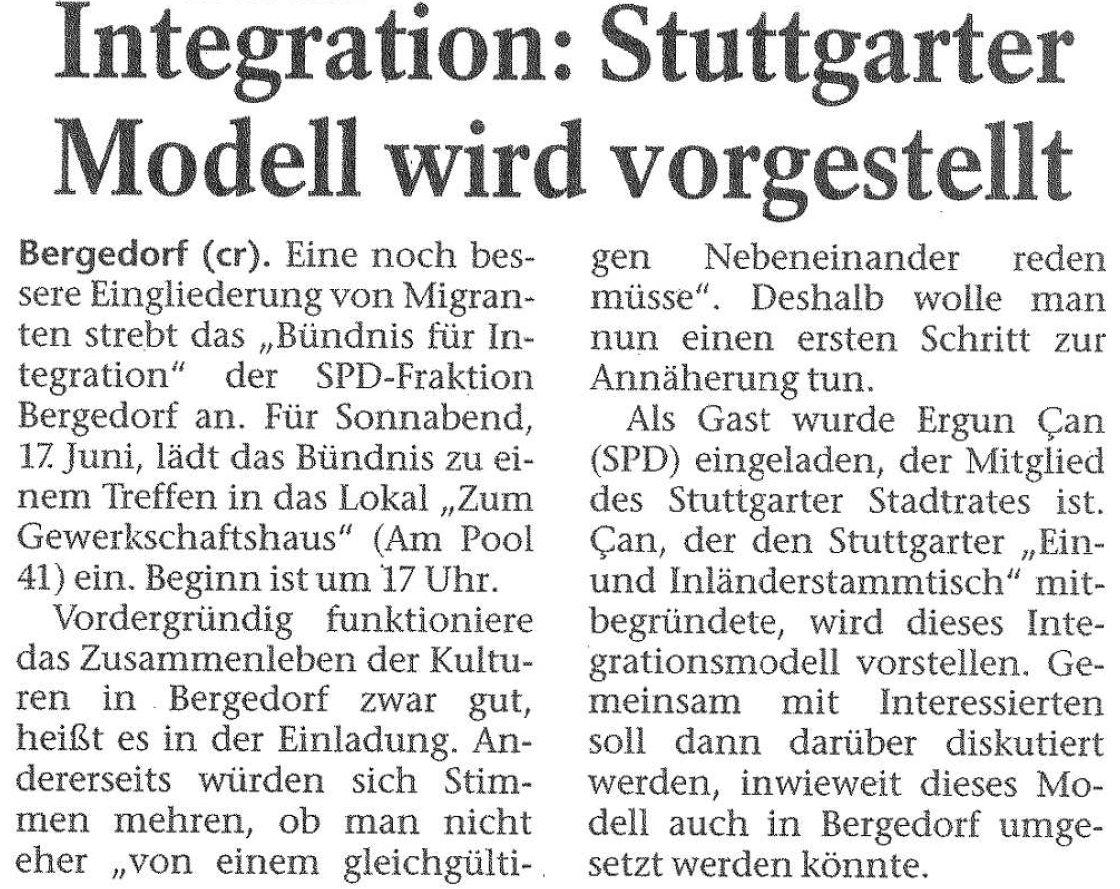 Bergedorfer Zeitung vom 16.06.2016