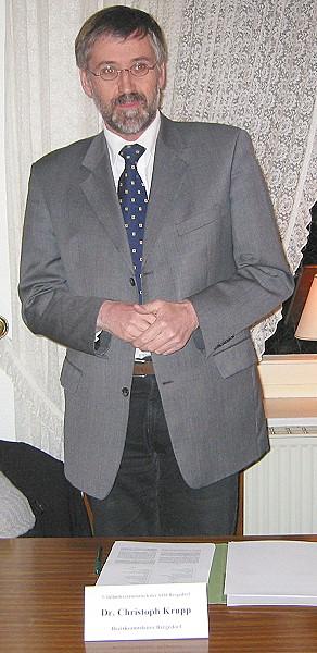 Bezirksamtsleiter Christoph Krupp