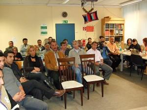 Mehr als 50 Interessierte kamen in die Räume des AKD am Oberen Landweg.