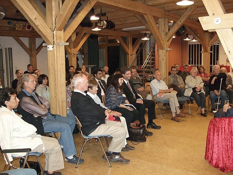 Mit rund 60 Teilnehmern war der 9. Inländerstammtisch der SPD Bergedorf sehr gut besucht.
